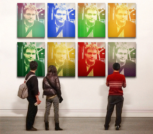 Carsten as Art, via Photofunia