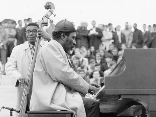 Thelonious Monk, from Library and Archives Canada via Wikimedia Commons