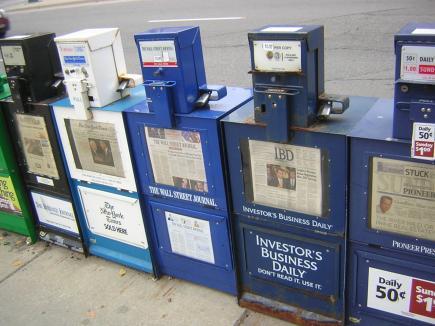 Newspapers by Susan Lesch