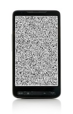 Smartphone with tv fuzz