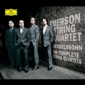 Emerson String Quartet Mendelssohn Quartets