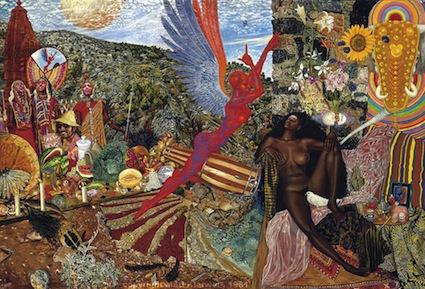 Mati Klarwein - Annunciation