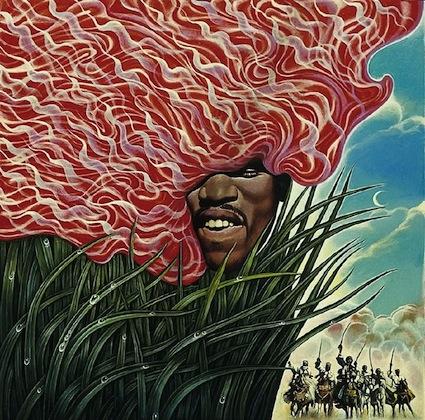 Mati Klarwein - Jimi Hendrix