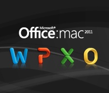 Office Mac 2011 Icons