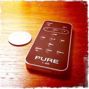 Pure i-20 dock remote control