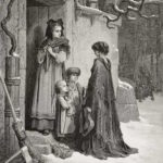 Poor Minstrel by Gustave Dore