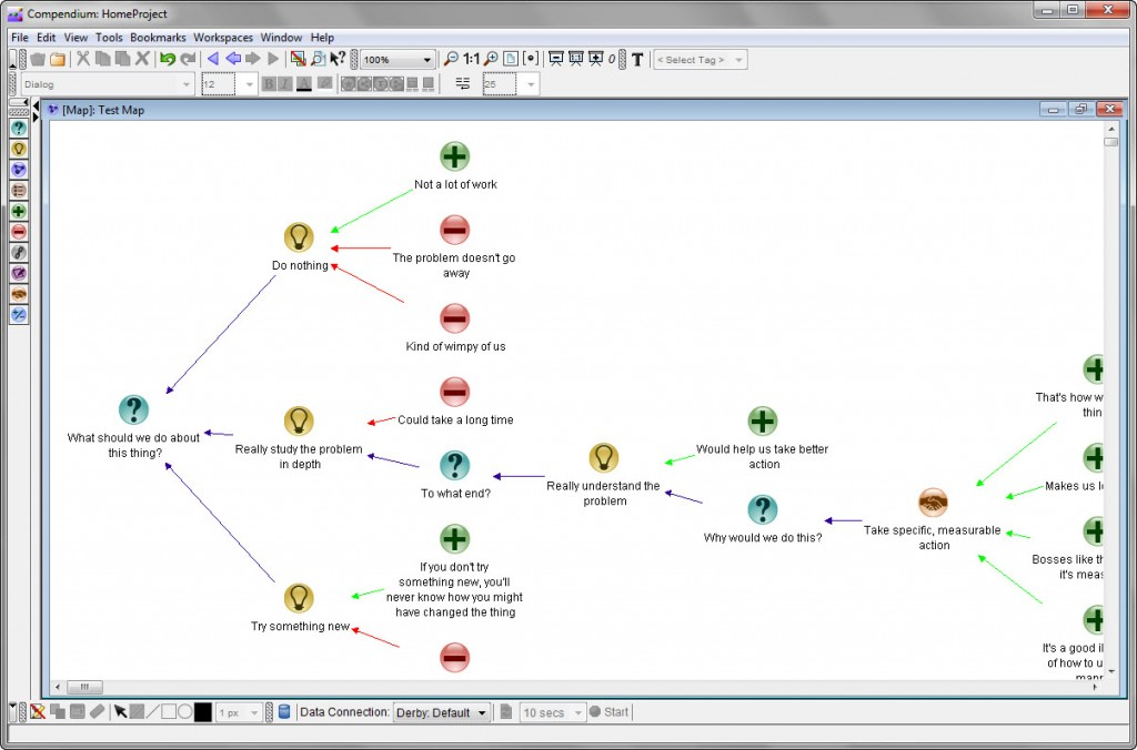Compendium Software Screen Shot