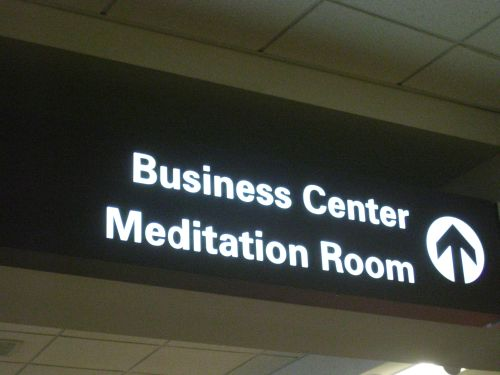 Meditation Room by brownpau via Flickr (Creative Commons License)