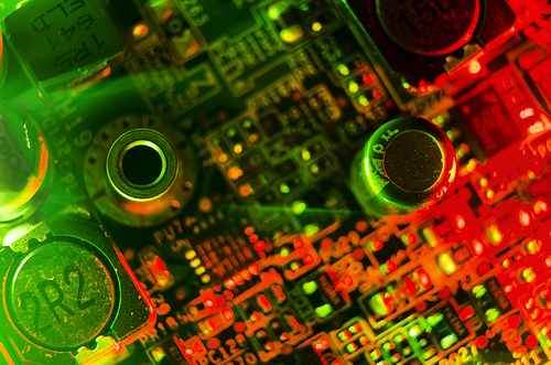 Motherboard by Tim Simpson Creative Commons via Flickr