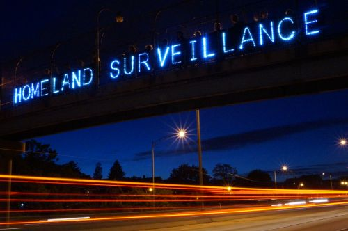 Homeland Surveillance by Light Brigading Creative Commons via Flickr