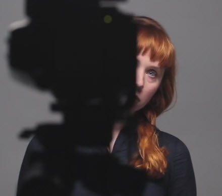 Holly Herndon in Metahaven's video for 'Home'