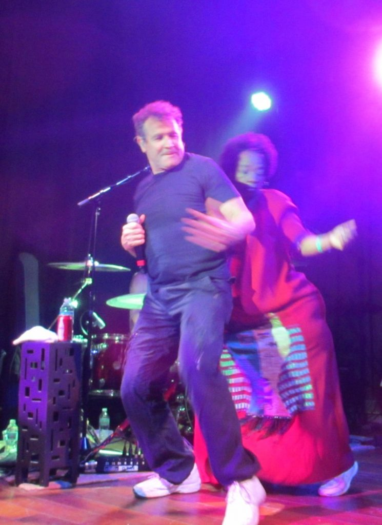 Johnny Clegg, dancing