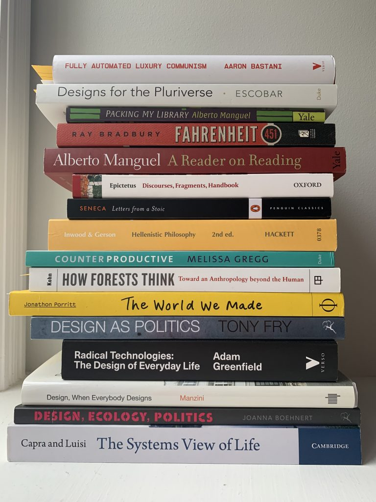Book pile September 2019 - III