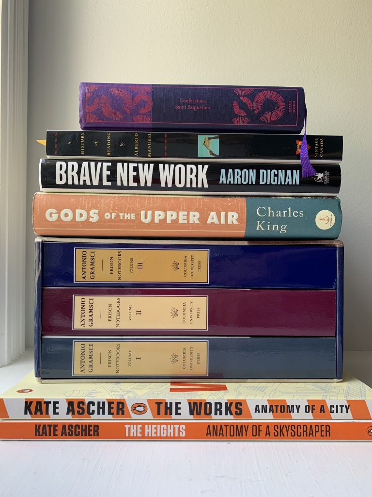 Book pile September 2019 - IV