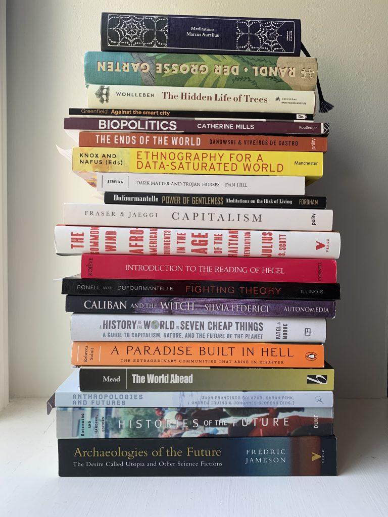 Book pile September 2019 - II